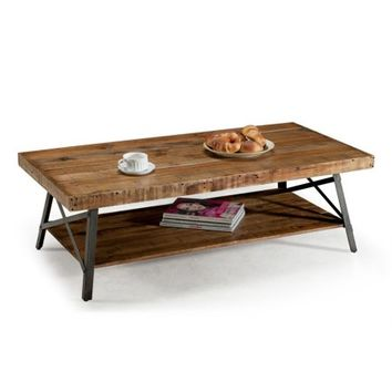 Emerald Home Chandler Cocktail Table Natural T100-0 - Walmart.com
