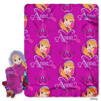 Disney's Frozen Anna  with Throw Combo