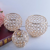 Gold Plated Candle Holders