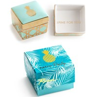 Patio Party I Pine For You Pineapple Trinket Box