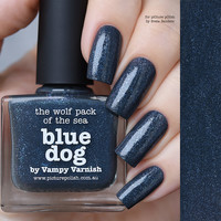 Picture Polish Blue Dog Nail Polish