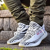 Adidas Yeezy Boost 350 V2 casual fashion tide brand sports shoes