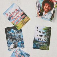 Bob Ross Playing Cards | Urban Outfitters