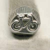 """3/8"""" Bicycle Steel Stamp-Metal Stamping Tool Perfect for Metal Stamping and Jewelry Design  SGDK-13"""