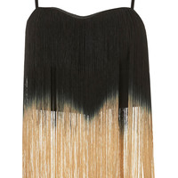 **Ombre Fringe Top by Rare - Brands at Topshop - Tops - Topshop