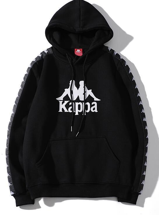 Image of Kappa  Woman Men Fashion Hooded Top Sweater Pullover  Hoodie