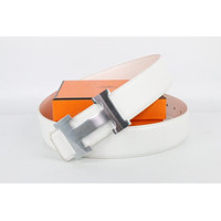 Hermes belt men's and women's casual casual style H letter fashion belt517