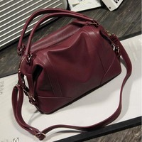 Soft  Leather Handbags Big Women Bag Zipper Ladies Shoulder Bag Girl Hobos Bags New Arrivals bolsa feminina Herald Fashion