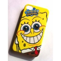 Spongebob Square Pants Hard Case Cover for iphone 4 4g 4s
