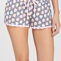 Women's PJ Salvage 'Candy Hearts' Shorts,
