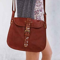 Ecote Maria Leather Messenger Bag- Brown One