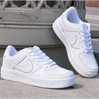 Tagre™ NIKE Trending Fashion Casual Sports Shoes White
