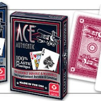 ACE 100% Plastic Playing Cards - 2 Decks