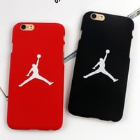 7 & 7 Plus Flying Man Michael Jordan Frosted PC Hard Case For iphone 7 7 Plus 6 6s Plus 5/5s SE Back Covers Cases Fundas Capa