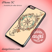 Compass Vintage Phone case for iPhone 5C and another iPhone devices