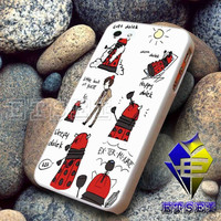 Doctor Who Daleks Soft Kitty  design for iphone case samsung galaxy case ipad case ipod case