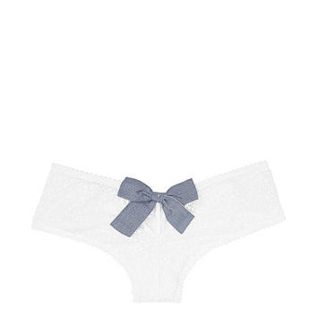 Floral Lace Cheeky Panty - Dream Angels - vs