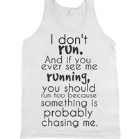 White Tank | Funny Joke Shirts