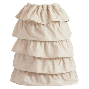 Ruffle Laundry Bag