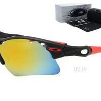 OKEY AA Sports Sunglasses for men women Baseball Running Cycling Fishing Golf Tr90 Durable Frame [2974244789]