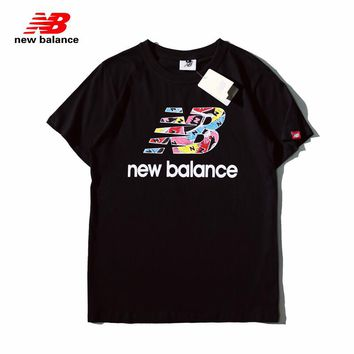 Hot Tunic  NB New Balance Women Man Fashion Print Sport Shirt Top Tee