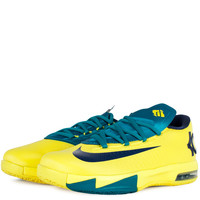 Shoes - Kids - Grade School - Nike Kids KD VI Grade School - Midnight Navy Sonic Yellow Tropical Teal - DTLR - Down Town Locker Room. Your Fashion, Your Lifestyle! Shop Sneakers, Boots, Basketball shoes and more from Nike, Jordan, Timberland and New Balanc