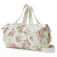Candie's Floral Duffle Bag