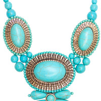 Teal My Heart Necklace