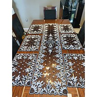 Luxurious Table Runner and placemats set