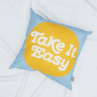 Take It Easy Cushion | Urban Outfitters