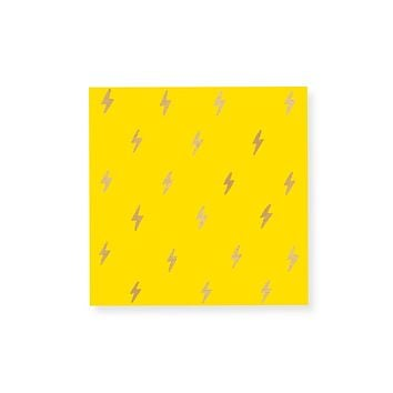 Small Lightning Gold Foil Match Box