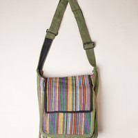 Tibetan Crossbody Traveler Bag