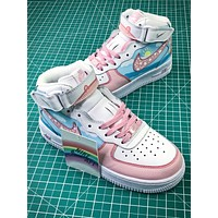 Nike Air Force 1 Af1 Mid Peppa Pig Sport Shoes