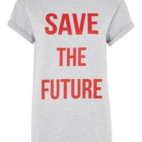 Save The Future T-Shirt | Topshop