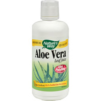 Nature's Way Organic Aloe Vera Whole Leaf Juice - 33.8 Fl Oz