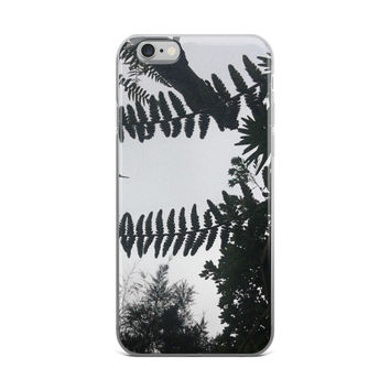 Trees and Ferns iPhone Case