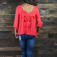 With Love Bow Blouse