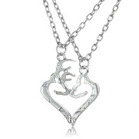 Buck & Doe Necklaces Silver Plated
