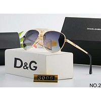 D&G Dolce&Gabbana Polarized Metal Men's and Women's Large Frame Sunglasses F-A-SDYJ NO.2
