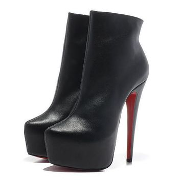 Christian Louboutin Women Fashion Casual Heels Shoes Boots-17