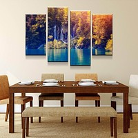 Turquoise Tranquility Canvas Set