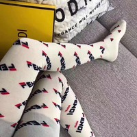 1pc FENDI Breathable Socks Stocking