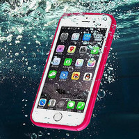 Beach Holiday Waterproof Underwater Shockproof Durable Full Sealed iPhone 6S 6 Plus 5S 5 SE Protective Case + Gift Box