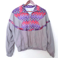 Vintage 80's/90's Aztec South Western Bomber