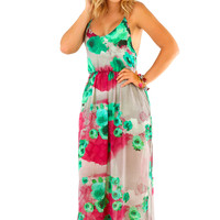 Finders Keepers Maxi Dress: Multi