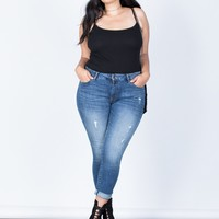 Plus Size Perfect Stretch Jeans