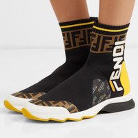 Fendi Coloured socks boots
