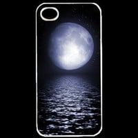 Beautiful Moon Custom iPhone Cases for IPhone 4 or 4s  - unique iphone cases