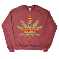Some Girls Get High — Weed and Wisdom Crewneck