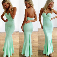 Sexy tight backless dress  GHS74S